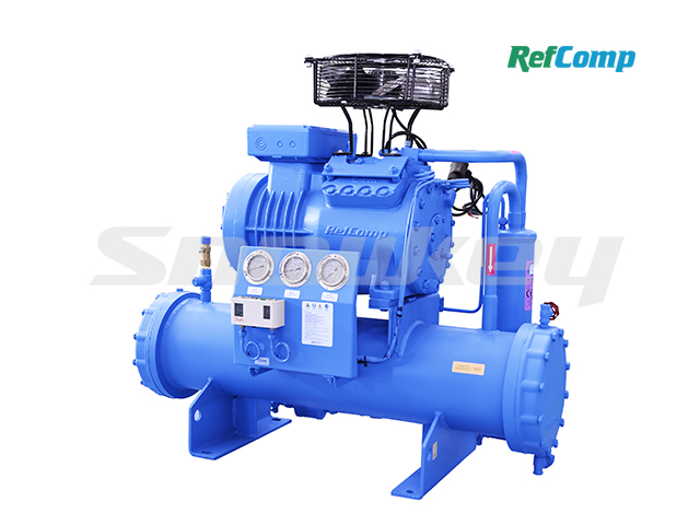 Water-Cooled Piston Compressor Condensing Unit WP4L012