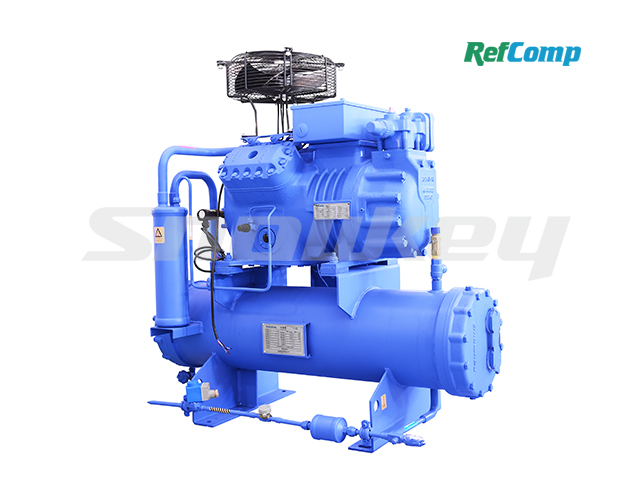 Water-cooled piston compressor condensing unit WP4L015 2