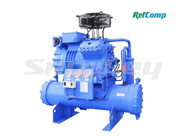 Water-Cooled Piston Compressor Condensing Unit WP4L015