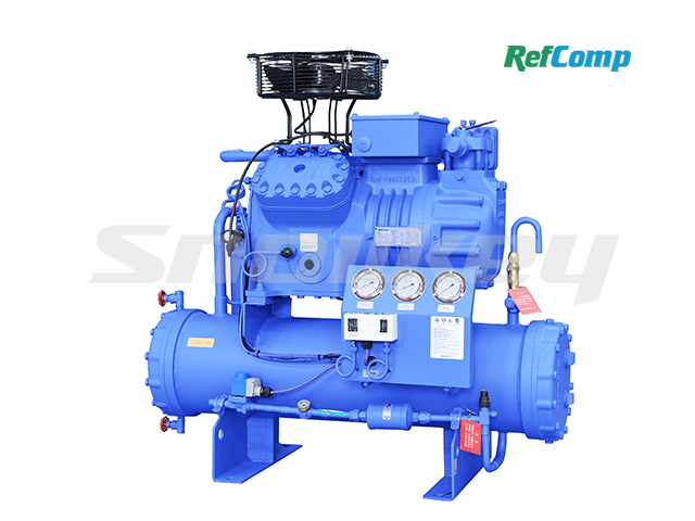 Water-cooled piston compressor condensing unit WP4L022 2