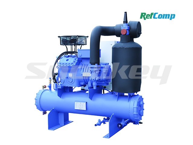 Water-cooled piston compressor condensing unit WP4L025 2