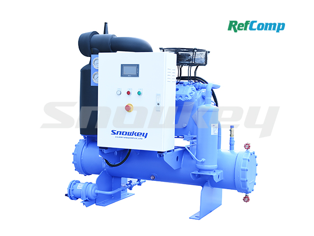 Water-cooled piston compressor condensing unit WP4L025
