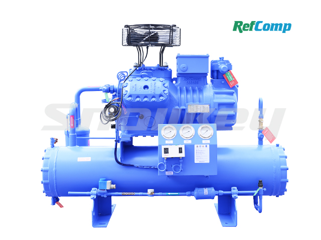 Water-Cooled Piston Compressor Condensing Unit WP6L030