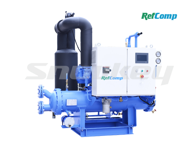Water-Cooled Screw Compressor Condensing Unit WSWL040A